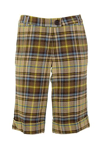 hoss shorts / bermudas femme de couleur beige
