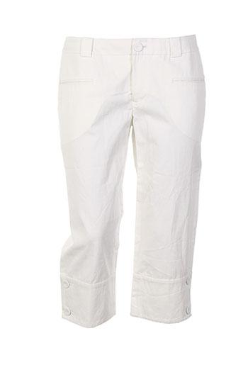 hoss shorts / bermudas femme de couleur blanc