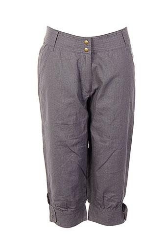 college shorts / bermudas femme de couleur gris
