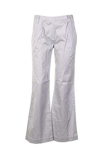 Pantalon chic gris COLLEGE pour femme