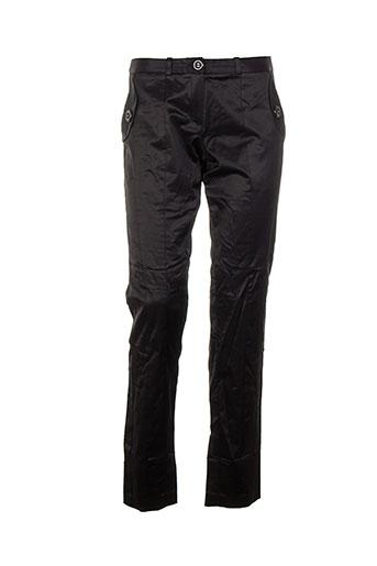 Pantalon chic noir BAUM UND PFERDGARTEN pour femme