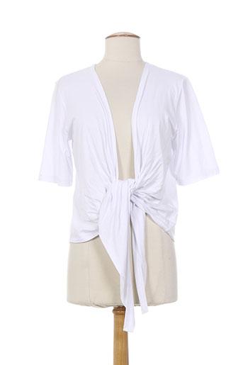christa probst vestes femme de couleur blanc