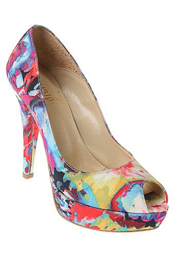 ovyé by cristina lucchi chaussures femme de couleur bleu