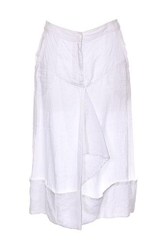 cannisse jupes femme de couleur blanc