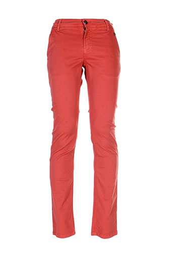 izac pantalons et decontractes homme de couleur orange