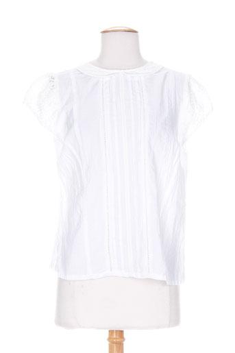 agathe EFFI_CHAR_1 louise chemises femme de couleur blanc