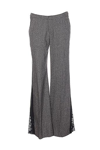 chine et collection pantalons et citadins femme de couleur gris