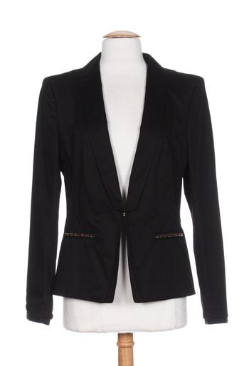 basler vestes femme de couleur noir