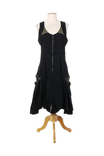 animale robes femme de couleur noir