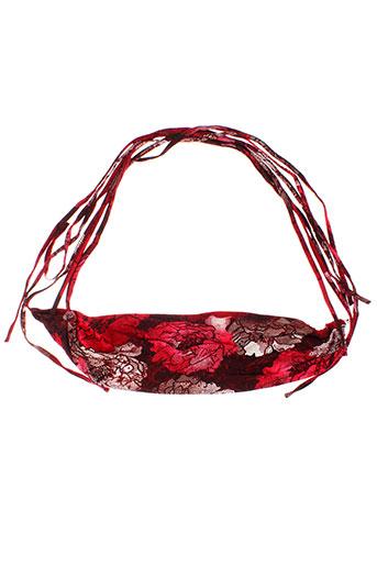 martine sam... accessoires femme de couleur rouge