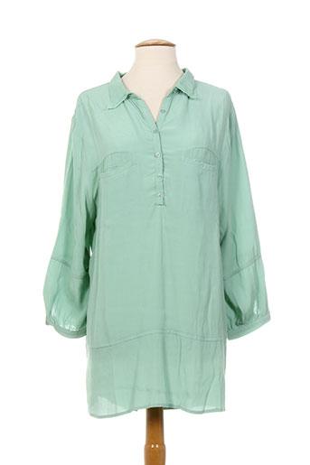 bohemia tuniques femme de couleur vert