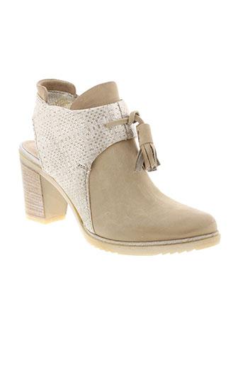 mjus boots femme de couleur beige