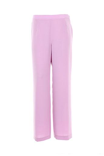 weill pantalons femme de couleur violet