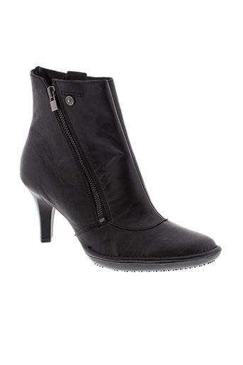 buggy boots femme de couleur noir