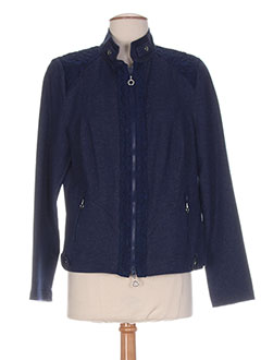 Veste casual bleu FRANK WALDER pour femme