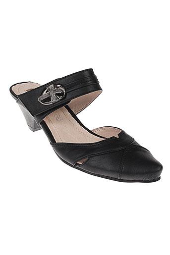 lolablue chaussures femme de couleur noir