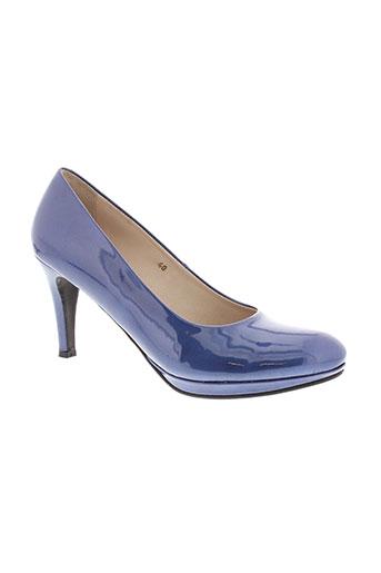 vidi studio chaussures femme de couleur bleu