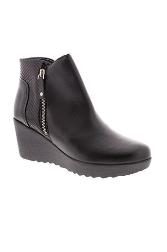 humat boots femme de couleur noir