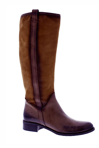 donna et piu bottes femme de couleur marron