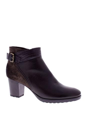 manas boots femme de couleur marron