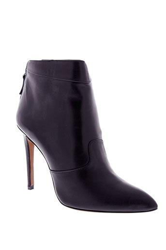aldo et castagna boots femme de couleur noir