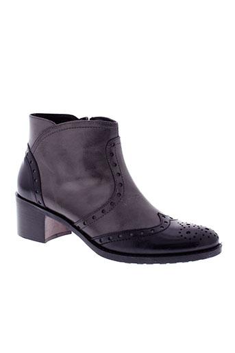 donna et piu boots femme de couleur gris