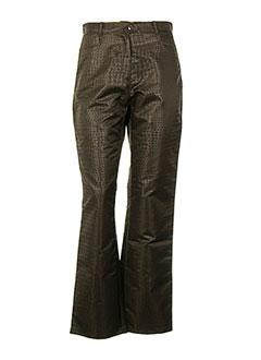 Pantalon casual marron GOLDIE VAVA pour femme