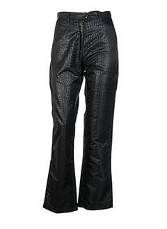 Pantalon casual noir GOLDIE VAVA pour femme