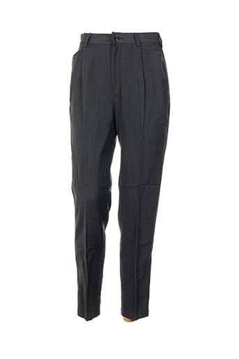 leone pantalons femme de couleur gris