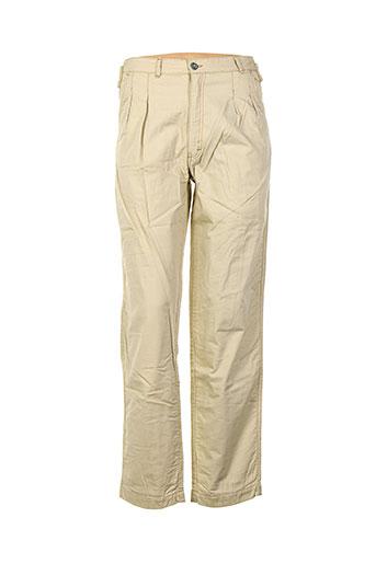 filly ston's pantalons femme de couleur beige