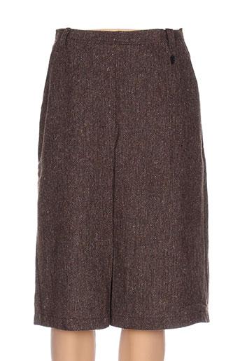 diplodocus jupes femme de couleur marron