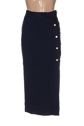 diapositive jupes femme de couleur bleu