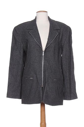 Veste casual gris DIFFERENTIEL pour femme