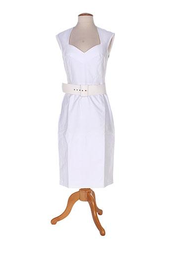 anne elisabeth robes femme de couleur beige