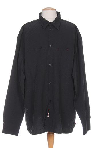 com8 chemises homme de couleur noir