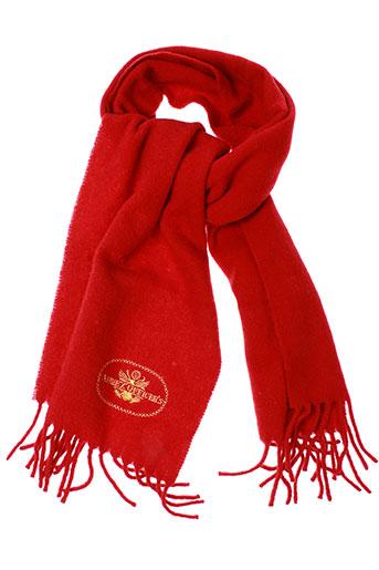 avirex echarpes et gants homme de couleur rouge