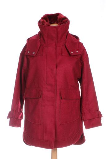 tiffosi manteaux femme de couleur rouge