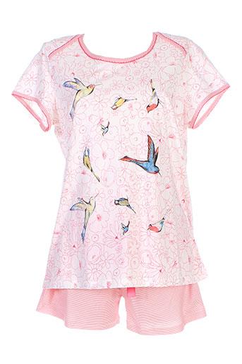 ringella pyjashorts femme de couleur rose
