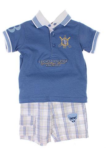 p et tites et canailles t et shirt et pantalon garcon de couleur bleu