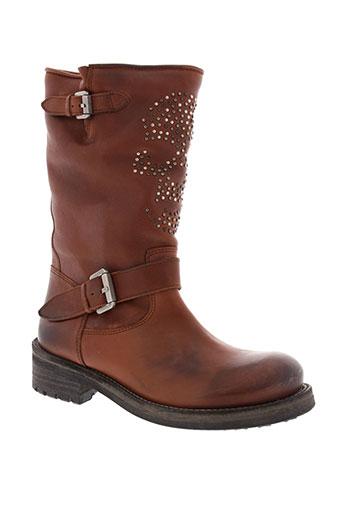see bee chaussures femme de couleur marron
