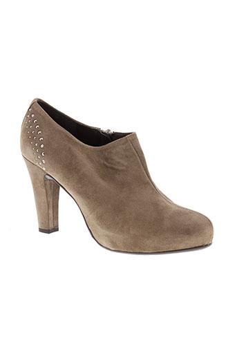 riva di mare chaussures femme de couleur marron