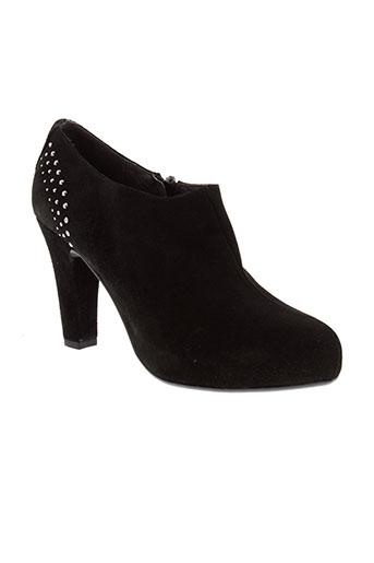 riva et di et mare boots femme de couleur noir
