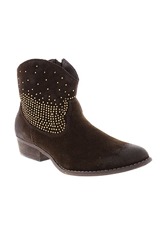 mystify boots femme de couleur marron