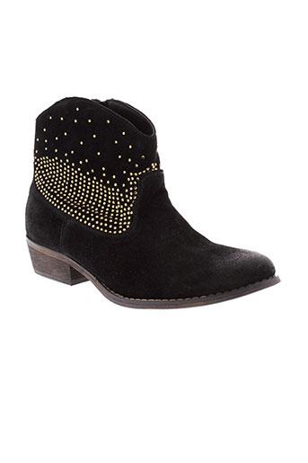 mystify chaussures femme de couleur noir