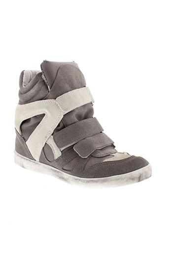 made in italy chaussures femme de couleur gris