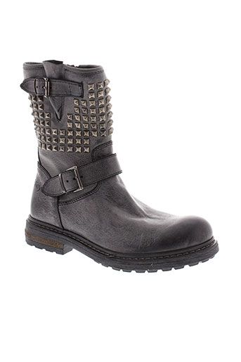 bikey boots fille de couleur noir