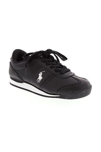 ralph lauren chaussures homme de couleur noir