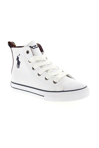 ralph lauren chaussures garçon de couleur blanc