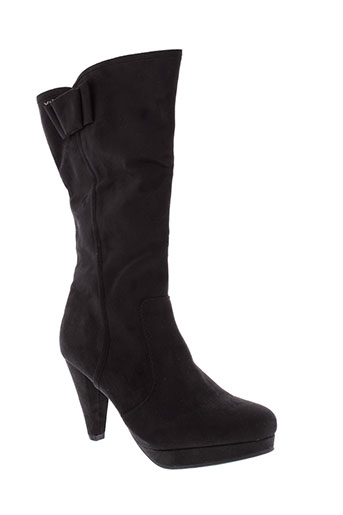 xti bottes femme de couleur noir
