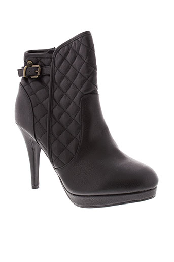 xti chaussures femme de couleur noir
